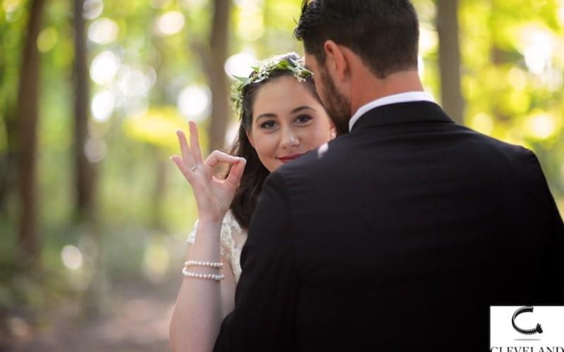 Peninsula Ohio wedding for Paul and Olivia