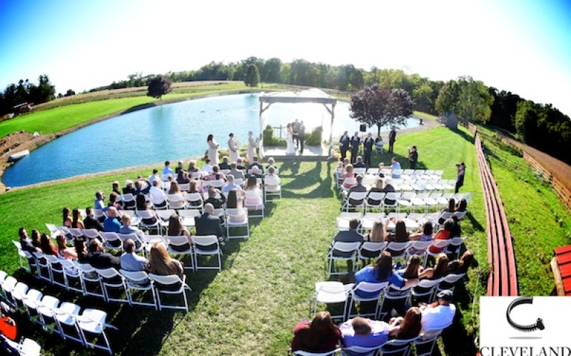 Peacock Ridge Ohio wedding for Kristine and Bob